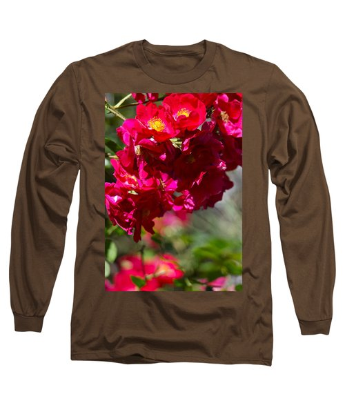 Long Sleeve T-Shirt featuring the photograph Rose Bouquet by Michele Myers