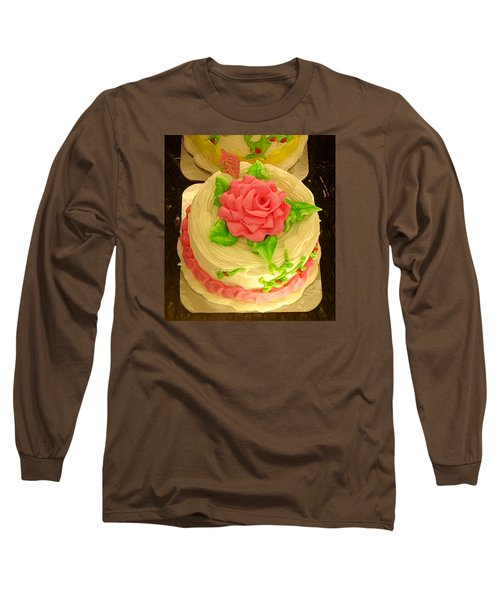 Rose Cakes Long Sleeve T-Shirt