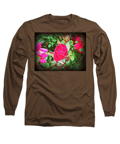 Rose Garden Centerpiece 2 Long Sleeve T-Shirt