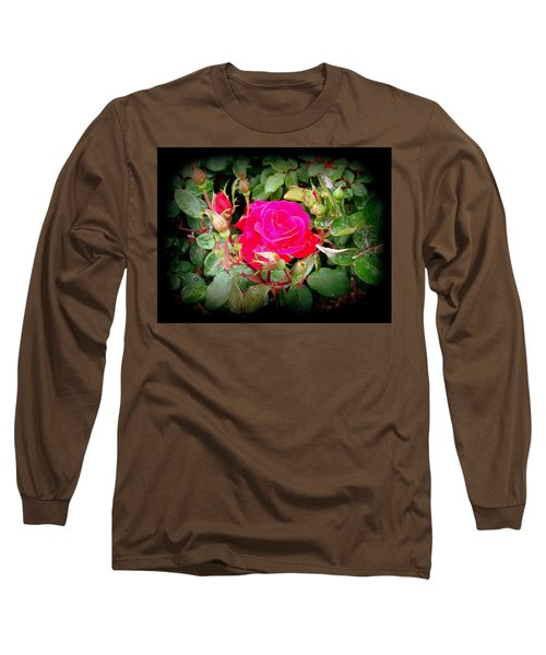 Rose Garden Centerpiece Long Sleeve T-Shirt