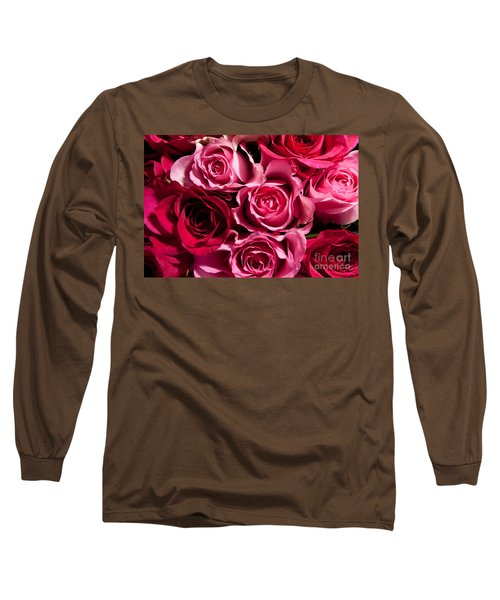 Long Sleeve T-Shirt featuring the photograph Roses by Matt Malloy