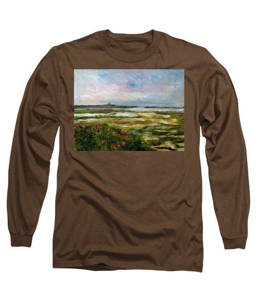 Roses Over The Marsh Long Sleeve T-Shirt