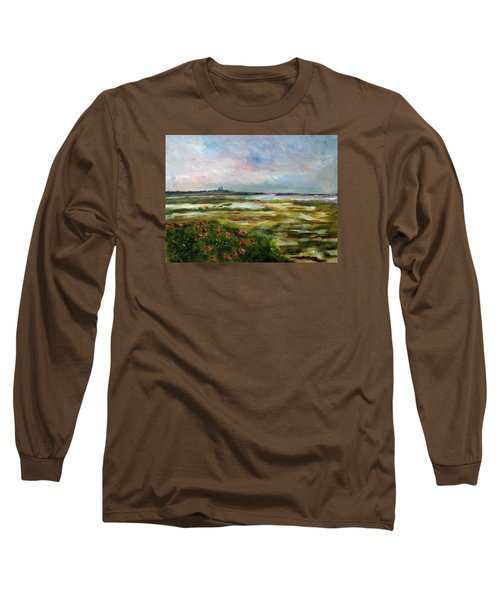 Roses Over The Marsh Long Sleeve T-Shirt