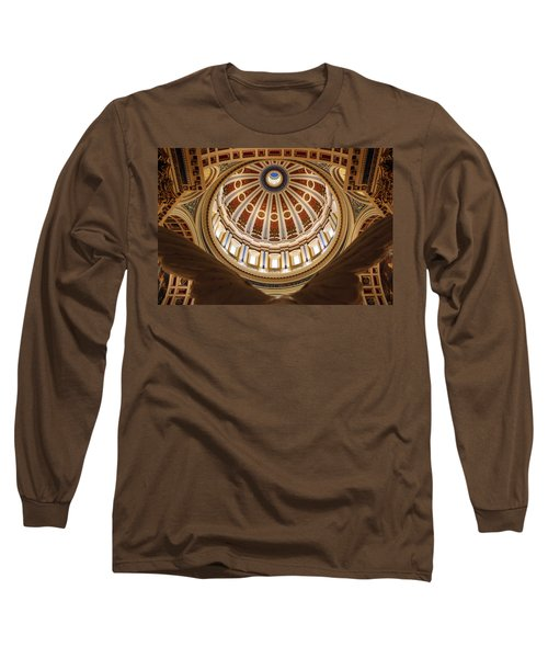 Rotunda Dome On Wings Long Sleeve T-Shirt by Joseph Skompski