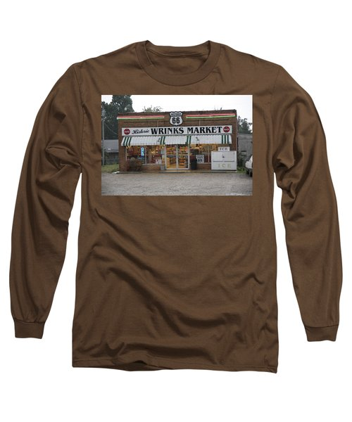 Route 66 - Wrink's Market Long Sleeve T-Shirt