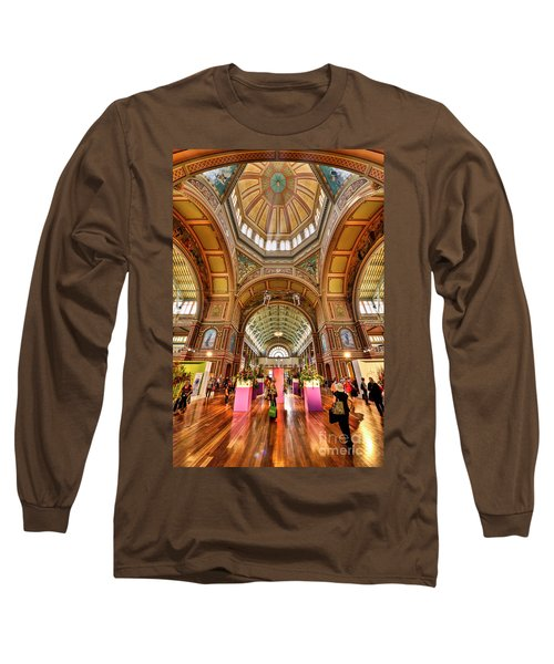 Royal Exhibition Building II Long Sleeve T-Shirt