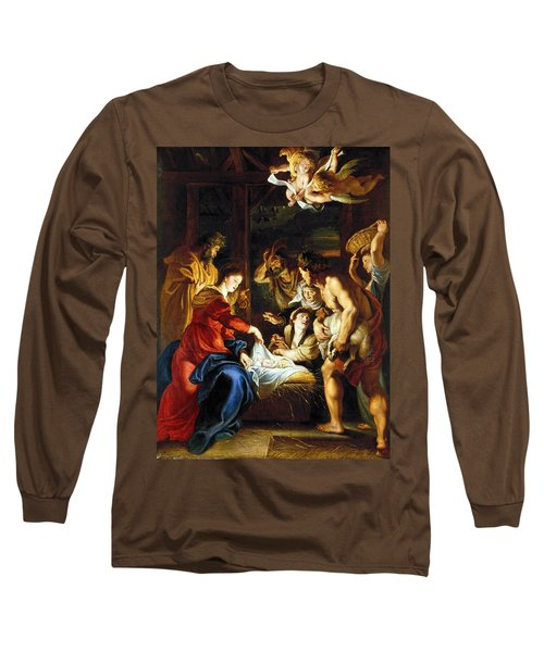Rubens Adoration Long Sleeve T-Shirt