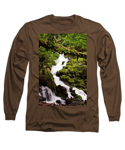 Long Sleeve T-Shirt featuring the photograph Running Wild by Suzanne Luft