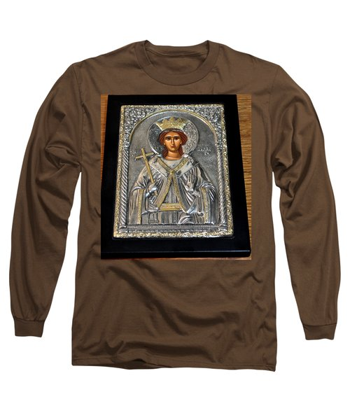 Russian Byzantin Icon Long Sleeve T-Shirt