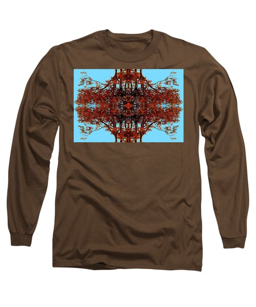 Long Sleeve T-Shirt featuring the photograph Rust And Sky 3 - Abstract Art Photo by Marianne Dow