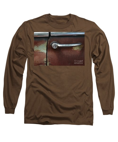 Long Sleeve T-Shirt featuring the photograph Rusty Rat by Christiane Hellner-OBrien