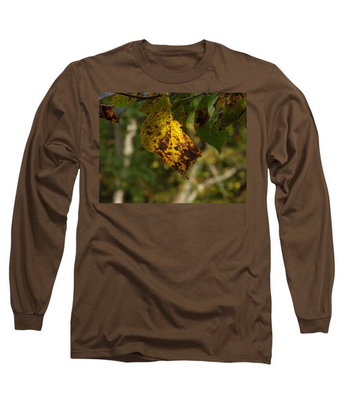 Long Sleeve T-Shirt featuring the photograph Rusty Leaf by Nick Kirby