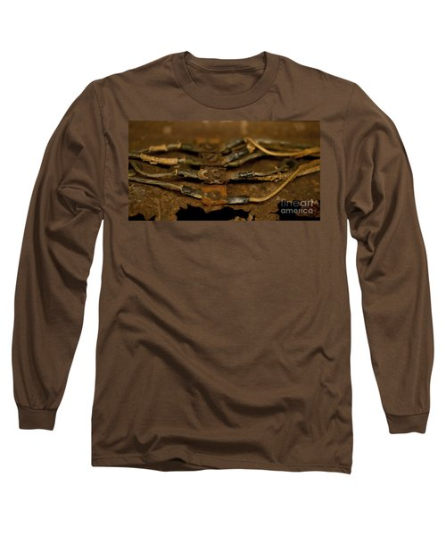 Rusty Wires Long Sleeve T-Shirt by Wilma  Birdwell