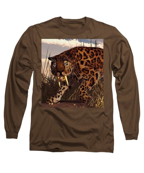 Sabertooth Long Sleeve T-Shirt