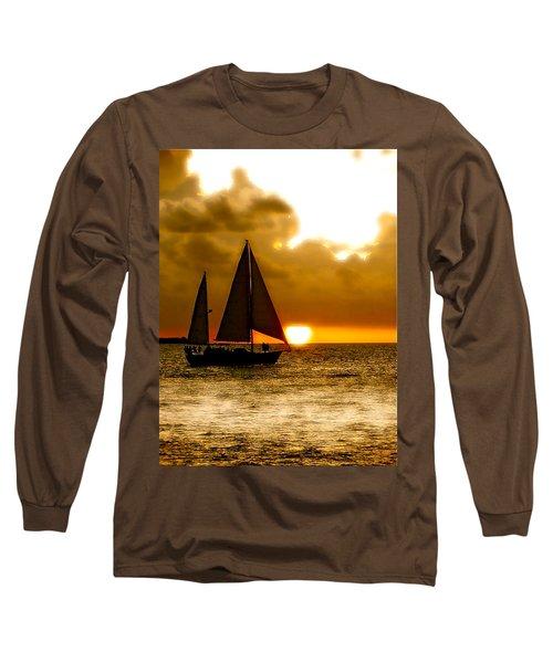 Sailing The Keys Long Sleeve T-Shirt
