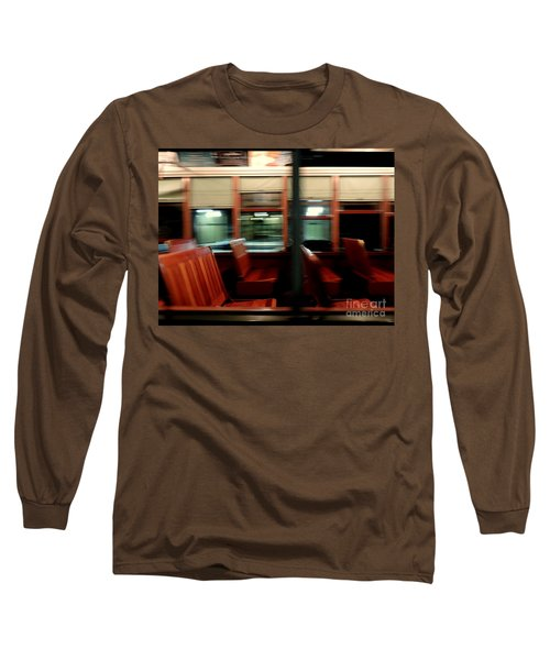 New Orleans Saint Charles Avenue Street Car In New Orleans Louisiana #6 Long Sleeve T-Shirt by Michael Hoard