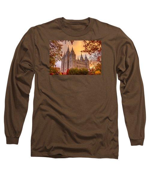 Salt Lake City Temple Long Sleeve T-Shirt