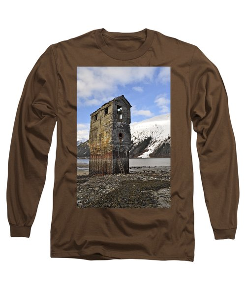 Saltwater Pump House Long Sleeve T-Shirt by Cathy Mahnke