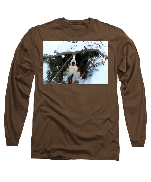 Long Sleeve T-Shirt featuring the photograph Sam And His Fort by Patti Whitten