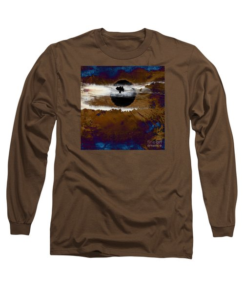 Samhain I. Winter Approaching Long Sleeve T-Shirt by Paul Davenport