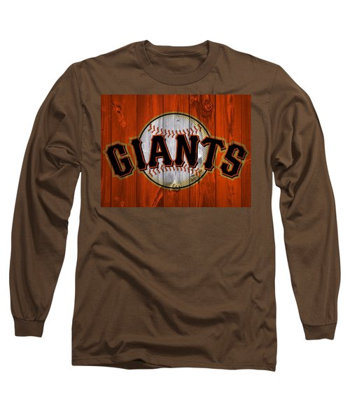 San Francisco Giants Barn Door Long Sleeve T-Shirt