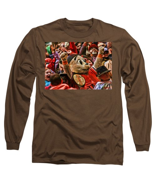 San Francisco Giants Mascot Lou Seal Long Sleeve T-Shirt