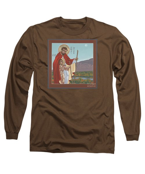 San Jose En El Rio Grande 268 Long Sleeve T-Shirt by William Hart McNichols