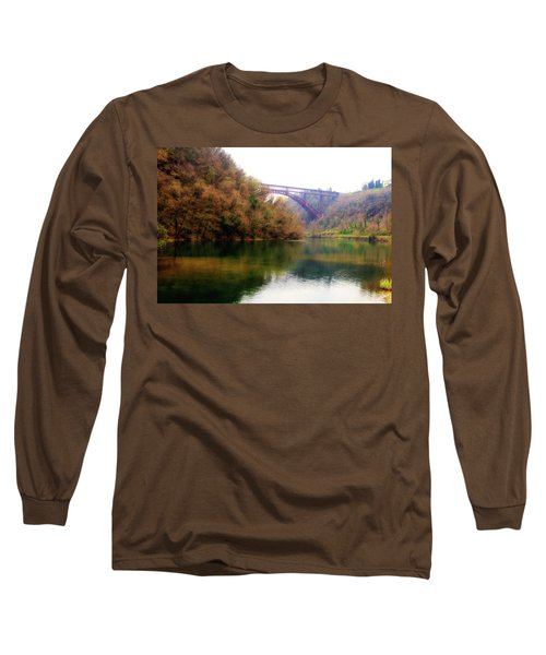 San Michele Bridge N.1 Long Sleeve T-Shirt
