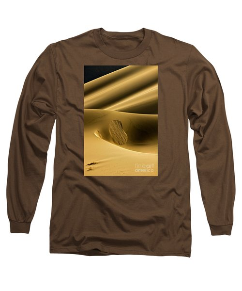 Sand Avalanche Long Sleeve T-Shirt by Michael Cinnamond