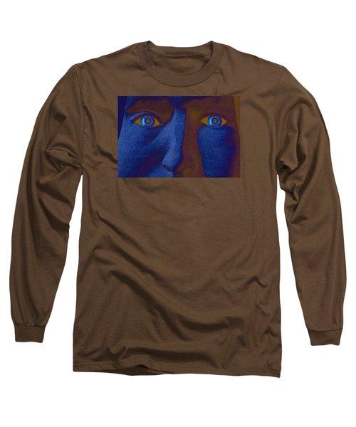 Long Sleeve T-Shirt featuring the digital art Sandman by Richard Farrington