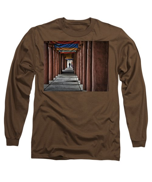 Santa Fe Nm 4 Long Sleeve T-Shirt by Ron White