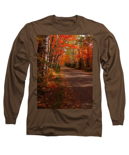 Scenic Maple Drive Long Sleeve T-Shirt
