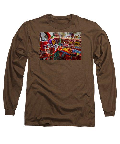 Scharfs Bomb Cadi Ultima Suprema Deluxa Interior Graffiti Long Sleeve T-Shirt