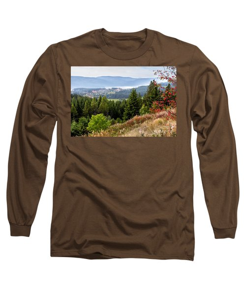 Schluchsee In The Black Forest Long Sleeve T-Shirt