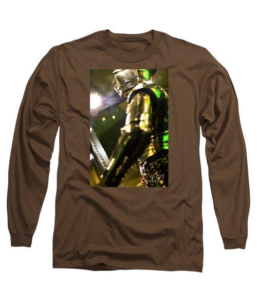 Screen Worn C3p0 Costume Long Sleeve T-Shirt by Micah May