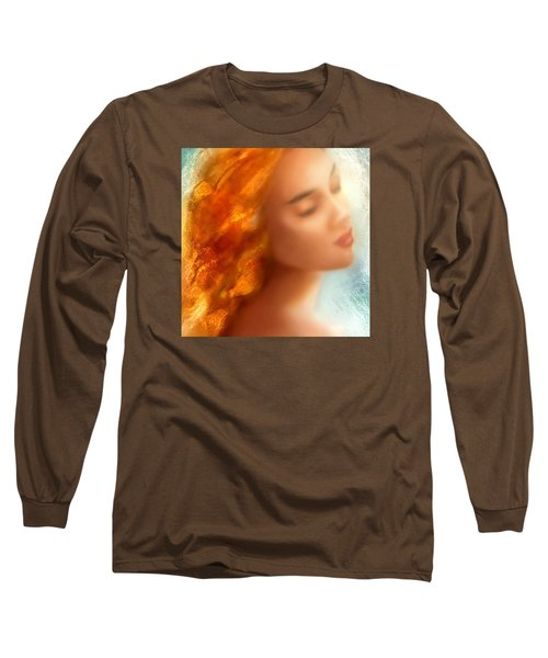 Long Sleeve T-Shirt featuring the painting Sea Nymph Dream by Michael Rock