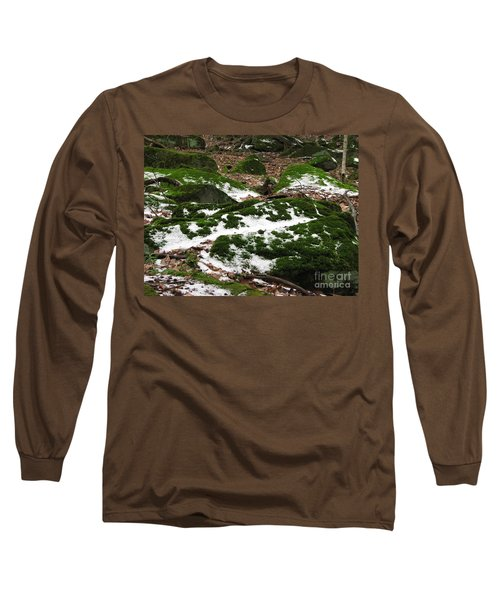 Sea Of Green Long Sleeve T-Shirt by Michael Krek
