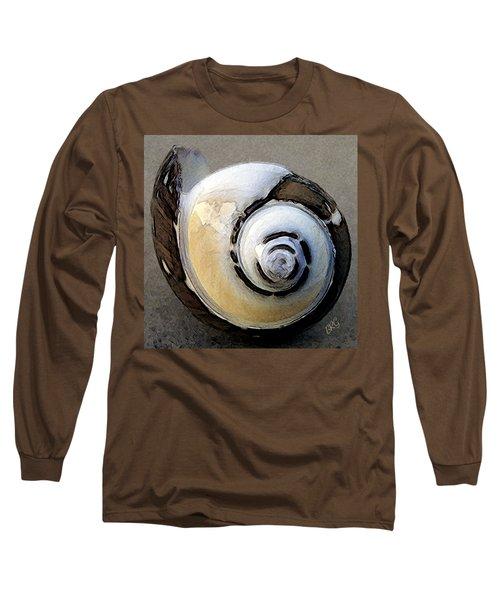 Seashells Spectacular No 3 Long Sleeve T-Shirt by Ben and Raisa Gertsberg