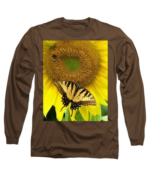 Secret Lives Of Sunflowers Long Sleeve T-Shirt