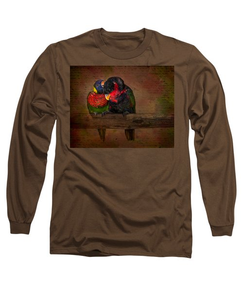 Secrets Long Sleeve T-Shirt by Susan Candelario