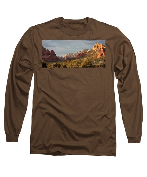 Sedona Sunshine Panorama Long Sleeve T-Shirt