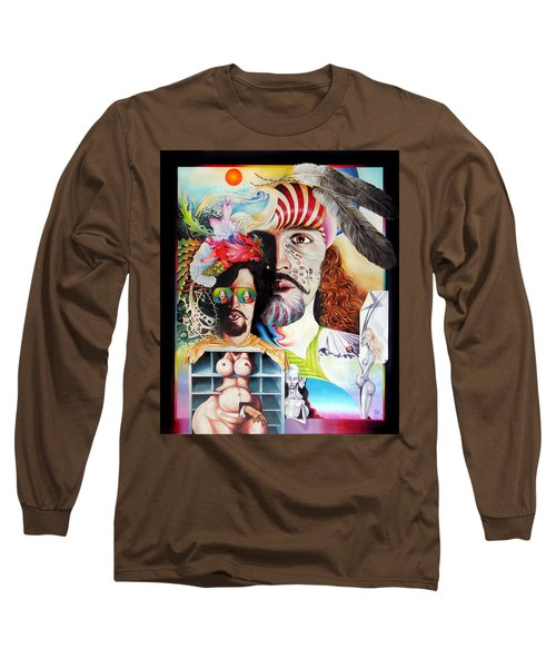 Selfportrait With The Critical Eye Long Sleeve T-Shirt