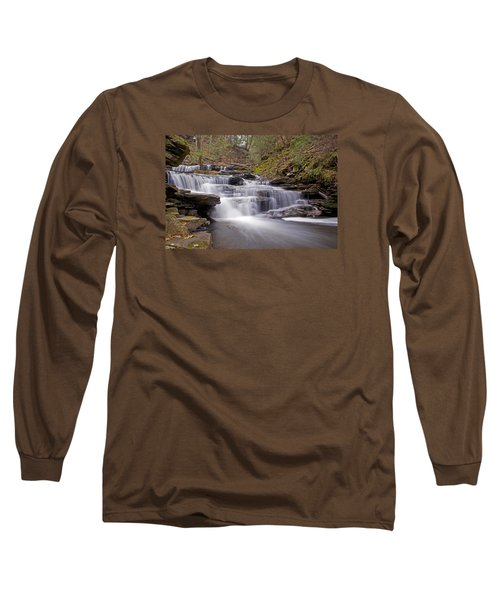 Seneca Falls In Spring Long Sleeve T-Shirt by Shelly Gunderson