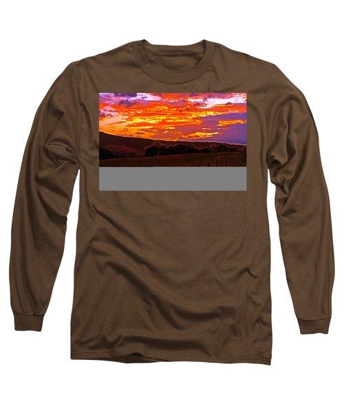 September Smokies Sunrise Long Sleeve T-Shirt