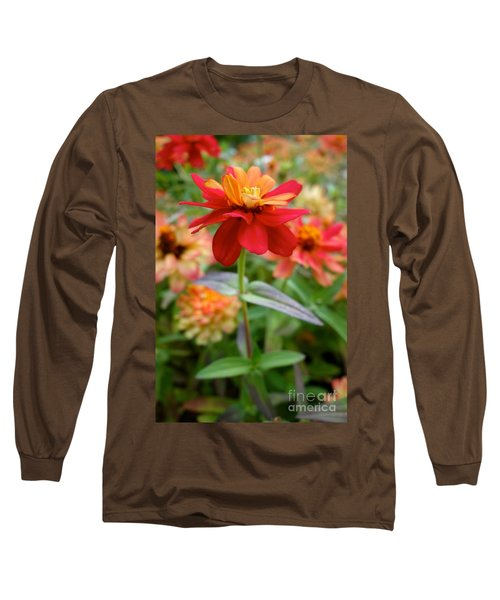 Serenity In Red Long Sleeve T-Shirt