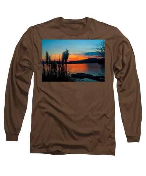 Serenity Orange Long Sleeve T-Shirt