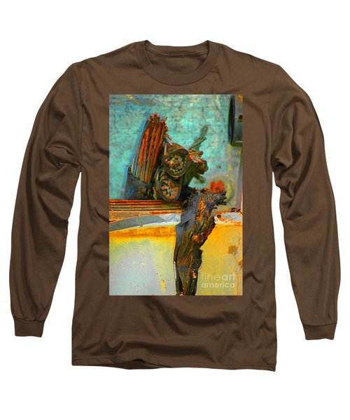 Long Sleeve T-Shirt featuring the photograph Severed  by Christiane Hellner-OBrien