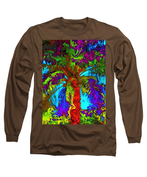 Shade Trees On Venus Long Sleeve T-Shirt
