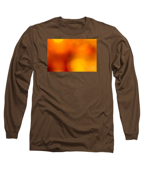 Shades Of Spheres Long Sleeve T-Shirt by Cathy Dee Janes
