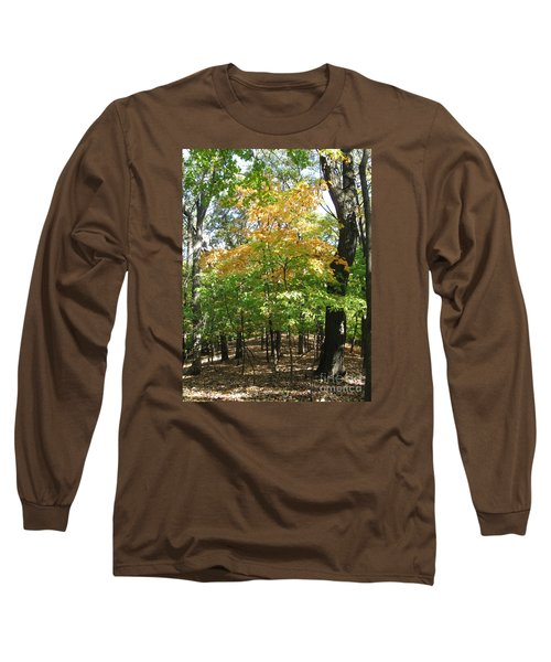 Shadows In The Forest Long Sleeve T-Shirt